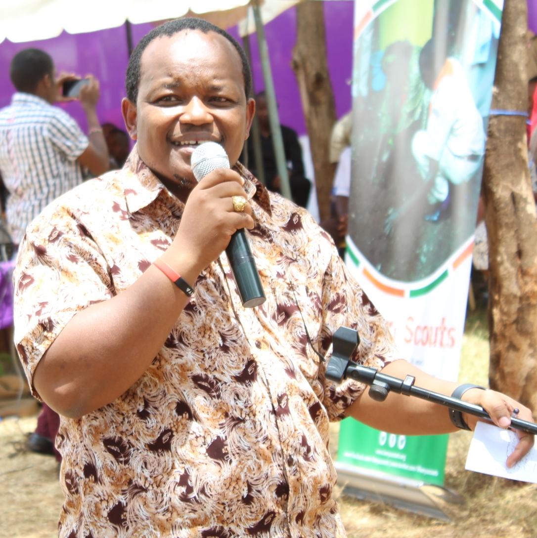 Nyeri town MP Ngunjiri Wambugu in a past event