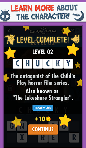 Close Up Horror: Pic Word Quiz screenshot 3