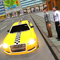 Mad Taxi Driving Simulator 3D icon