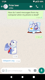 WhatsApp Stickers – Telegram 8