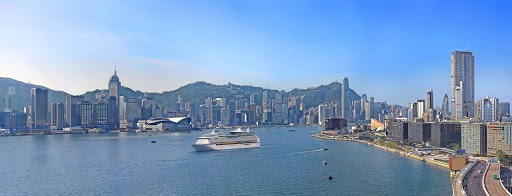 hong-kong-panorama.jpg - Voyager of the Seas sails through Hong Kong's cosmopolitan harbor.