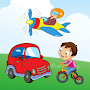 Vehicles Names for Kids APK icon