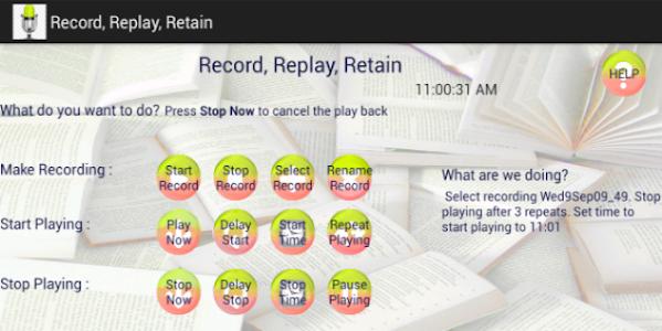 Record, Replay, Retain screenshot 4