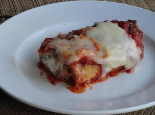 """Click Here for Recipe: Eggplant Rollatini """"This dish was on our Mothers..."""