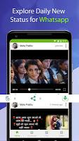 screenshot of StatusWall - Status Download Video & Images