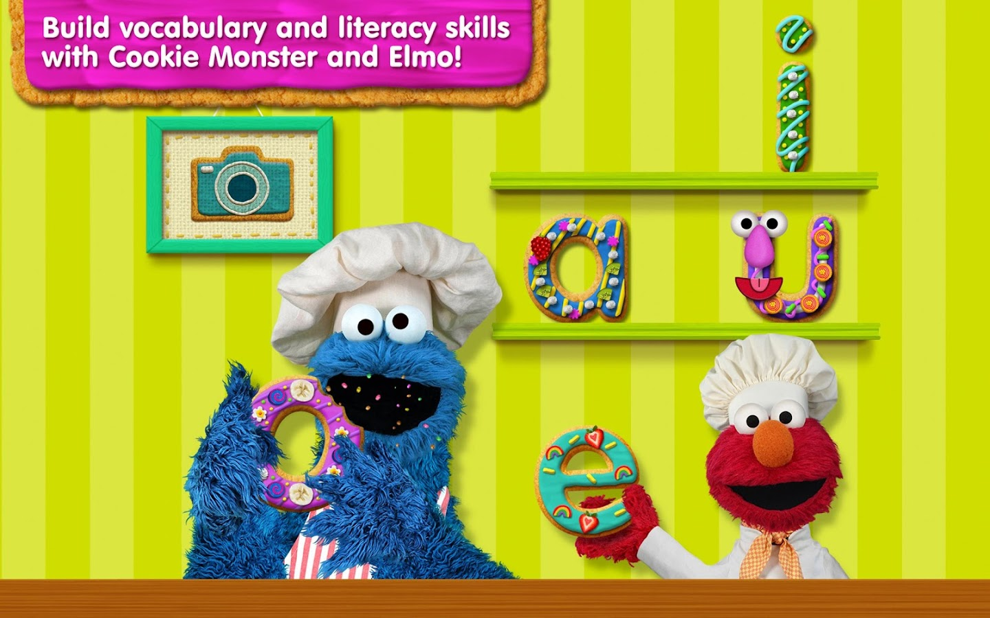 Sesame Street Alphabet Kitchen- screenshot