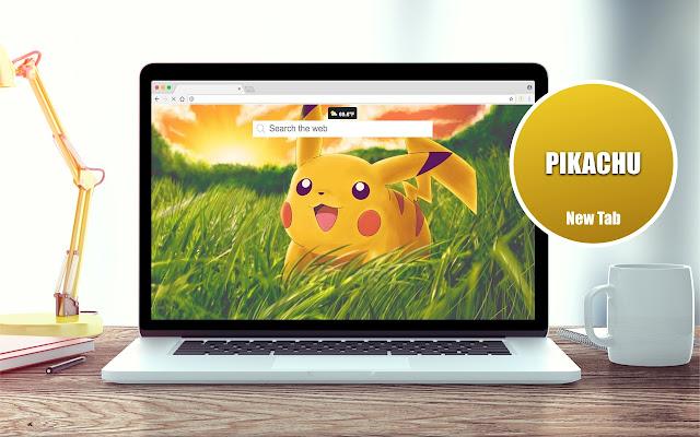 Pikachu Wallpapers New Tab Theme
