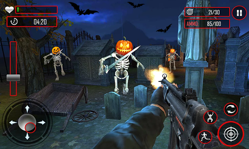 Zombie Night Party: FPS Shooting Game 2020 apkpoly screenshots 1