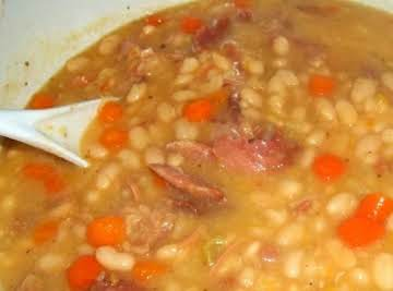 Navy Bean N Ham Soup