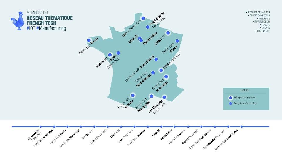 Carte IoT Manufacturing