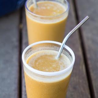Silk Vanilla Almondmilk First Time Taste (and Pumpkin Smoothie Recipe!)