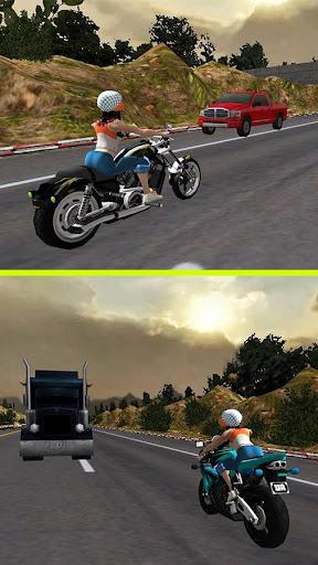Racing Girl 3D apkdebit screenshots 8