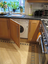Photo: washer/dryer combo, in kitchen, director's flat