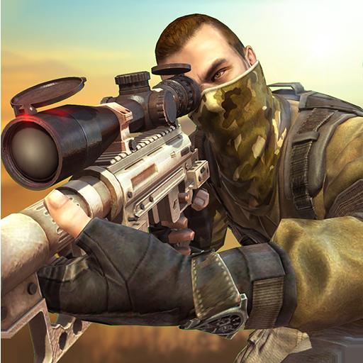 动作のブラボースナイパー:戦争3Dシューター LOGO-記事Game