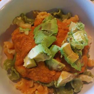 Vegan Beer Pumpkin Pasta Sauce.