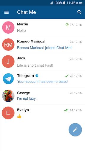 Chat Me - Instant Messenger 1 screenshots 2