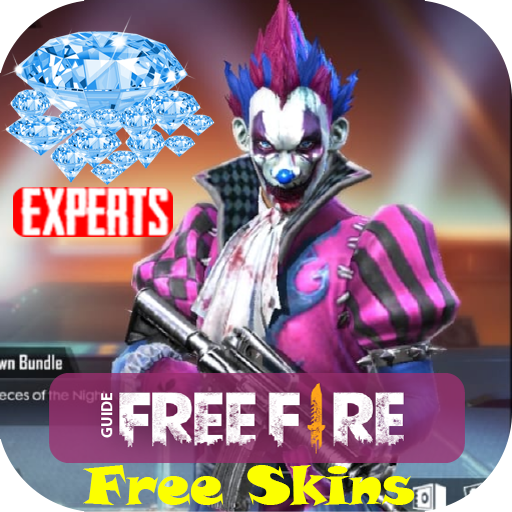Guide for FF free skin diamond‏‎ Weapons free fire