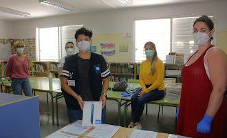 Apertura de centros educativos de Almería