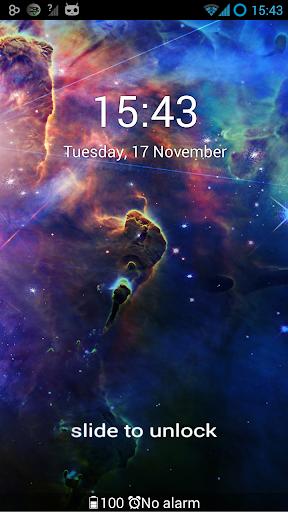 無料个人化AppのGO Locker Theme Cosmos HDR 記事Game
