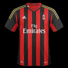 Photo: AC Milan 1ª * Camiseta Manga Corta * Camiseta Manga Larga * Camiseta Mujer * Camiseta Niño con pantalón
