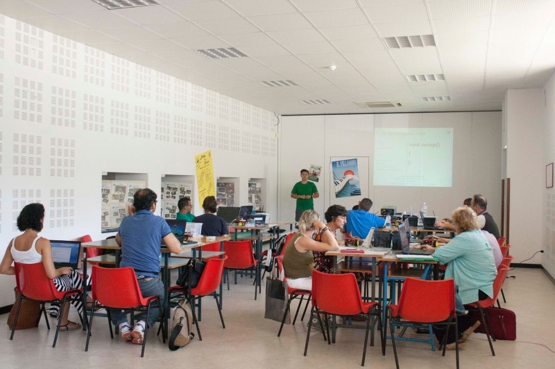 """September 7, Lucca - Course """"How does the school 2.0 - Educational robotics"""""""