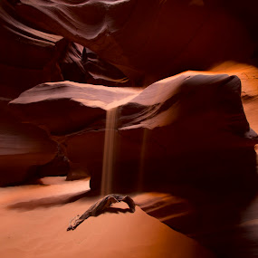 Upper Antelope Canyon by Stephen Berry - Landscapes Caves & Formations ( upper, page az, antelope canyon )
