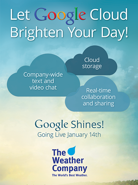 The Weather Company: Google Shines!
