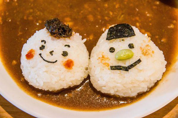 超有特色的日本飯糰餐~開動了 日本家庭料理