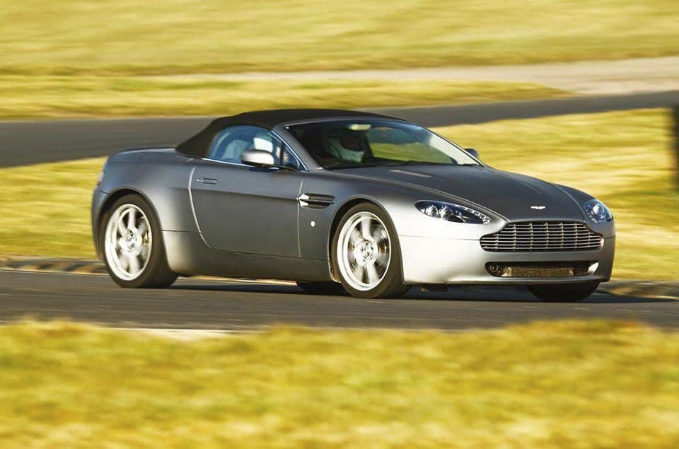 Aston Martin V8 Vantage Hire Cardiff