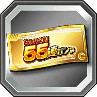 55連ガチャチケット
