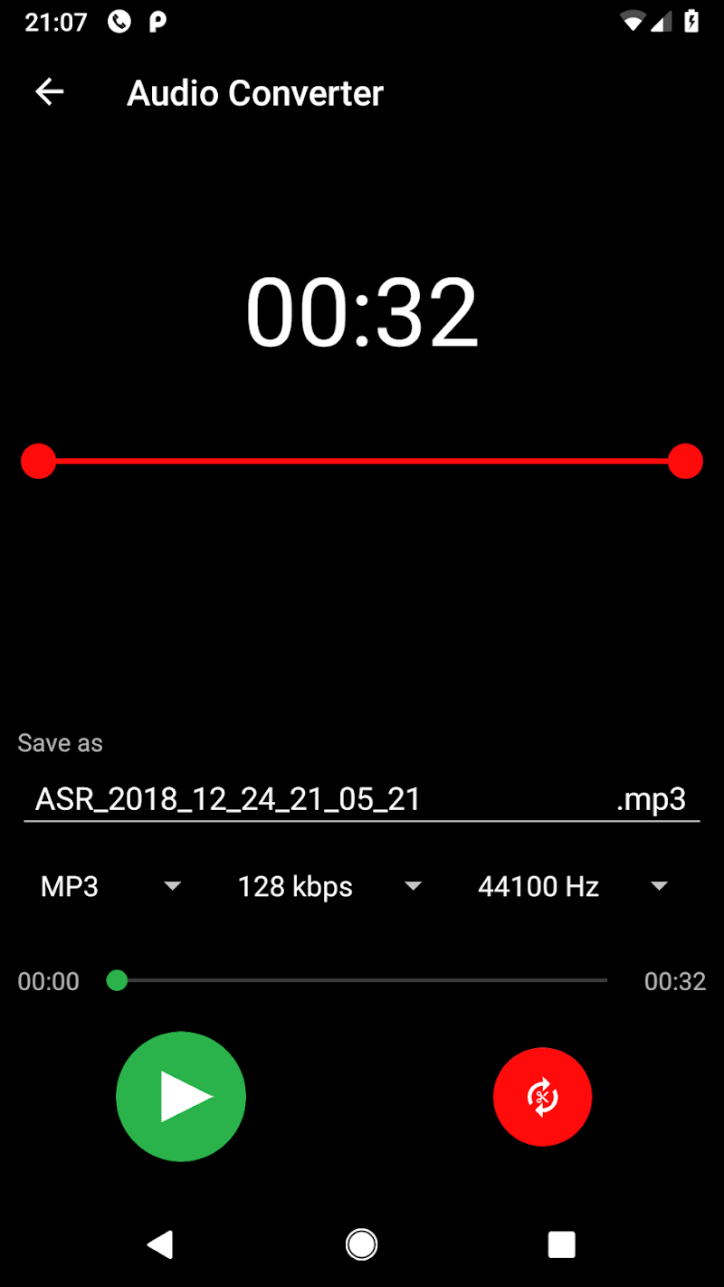 MP3 Voice and Audio Recorder - ASR Screenshot 6