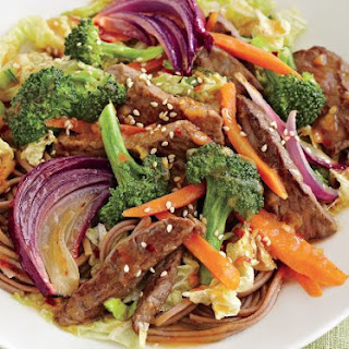 Sweet Asian Beef Stir-fry