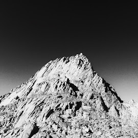 Rocks Mountain  by SULTANA SHTAYAN - Black & White Landscapes ( nature, black and white )