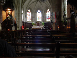 Photo: Inside the St. Sauveur church in the old quarter.