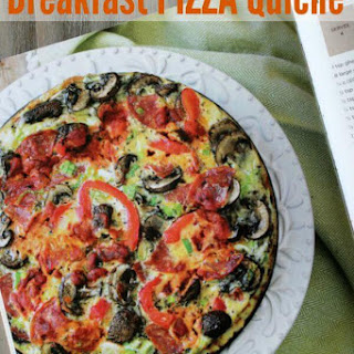 Breakfast Pizza Quiche from One Pot Paleo