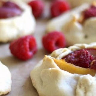 Mini Plum Raspberry Galettes