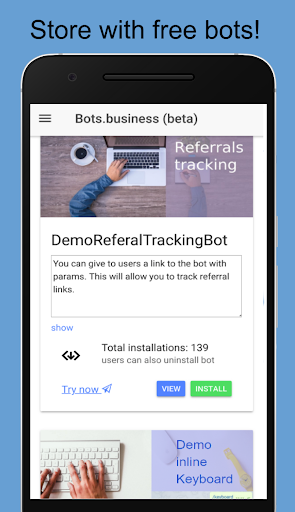 Bots.Business u2013 create your own bot 0.7.5 screenshots 2