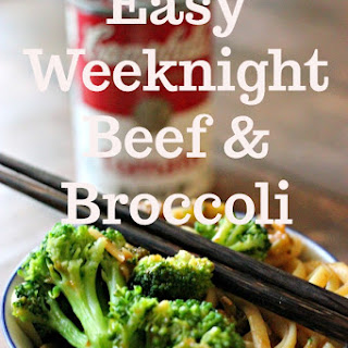 Easy Weeknight Beef and Broccoli