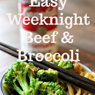 Easy Weeknight Beef and Broccoli.