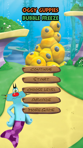 Oggy Guppies Games
