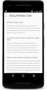 Paleo Diet For Weight loss (2018)- screenshot thumbnail