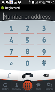 SpeedTel Dialer SIP- screenshot thumbnail