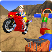 Kids Impossible Monster Motorbike Stunts