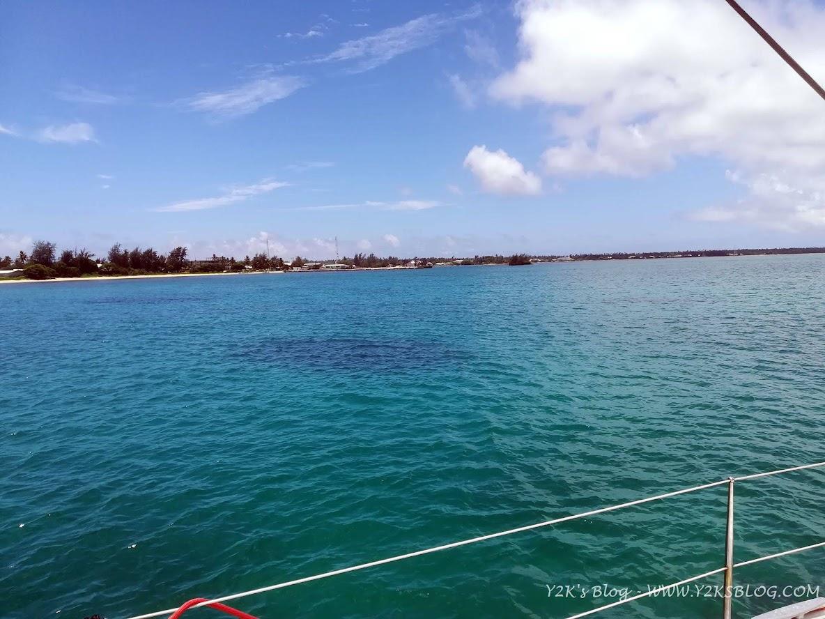 L'ancoraggio di Pangai - Ha'apai