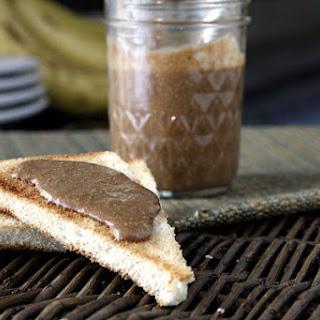 Homemade Chocolate Hazelnut Spread.