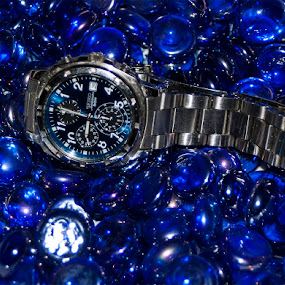 by Jack Raymond - Artistic Objects Jewelry ( seiko, blue, watch, jewelry )
