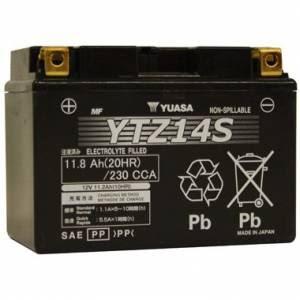 YUASA MC batteri YTZ14S lxbxh=150x87x110mm
