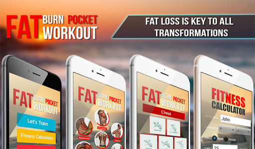 Fat Burn Pocket workout 1.0.3 screenshots 9