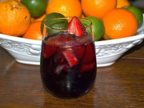 "Berry Sangria (like Olive Garden's) ""These are so good! They are a..."