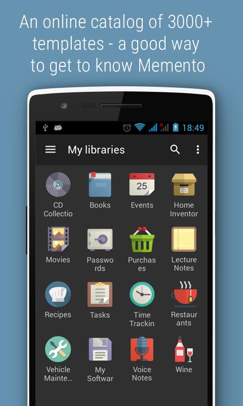 Memento PRO License Key- screenshot
